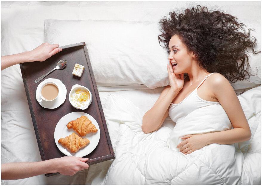¡7 desayunos para sorprender a tu pareja!