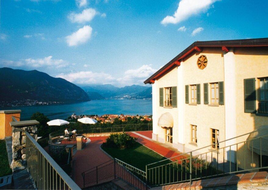Romantik Hotel Relais Mirabella: una location riconosciuta per la sua posizione, affacciata sul lago d'Iseo