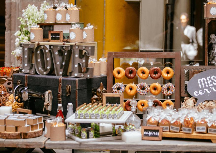 4 ideas muy trendy para el banquete de boda: Lo último en materia gourmet