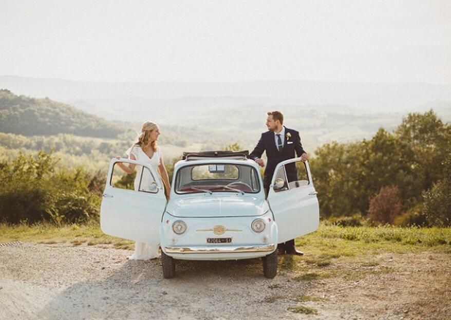 Los 5 coches con más estilo para llegar a tu boda