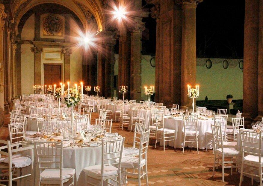 Around You Banqueting vi seguirà passo dopo passo nel costruire le nozze che avete sempre sognato!
