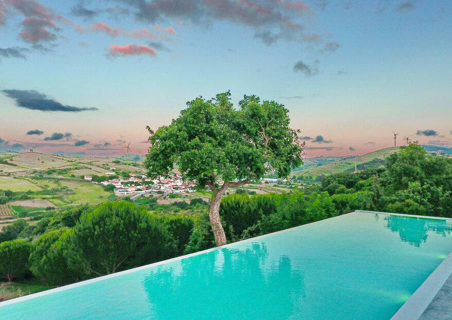 Quinta do Casal Novo: 24 anos no topo de uma colina a celebrar casamentos especiais