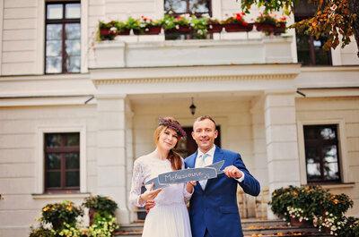 Ślub w jesiennych barwach, czyli mąż i żona w kolorach! Zapraszamy!
