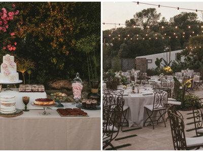 Una fiesta con vistas al mar: la boda de Rocío y Turay