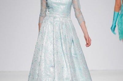 Wagen Sie eine andere Farbe als Weiß für Ihr Brautkleid?