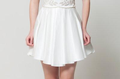 Mais de 50 opções de vestidos de noiva lindos e versáteis para uma cerimônia civil