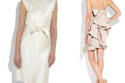 13 robes de mariée courtes : TOP pour mariage civil, second mariage...
