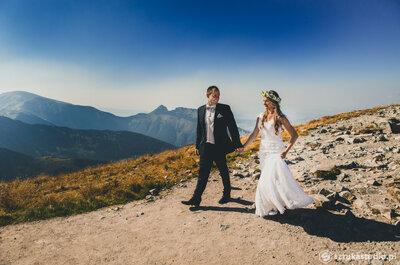 Sesja ślubna na Kasprowym Wierchu? Efekt doskonały!