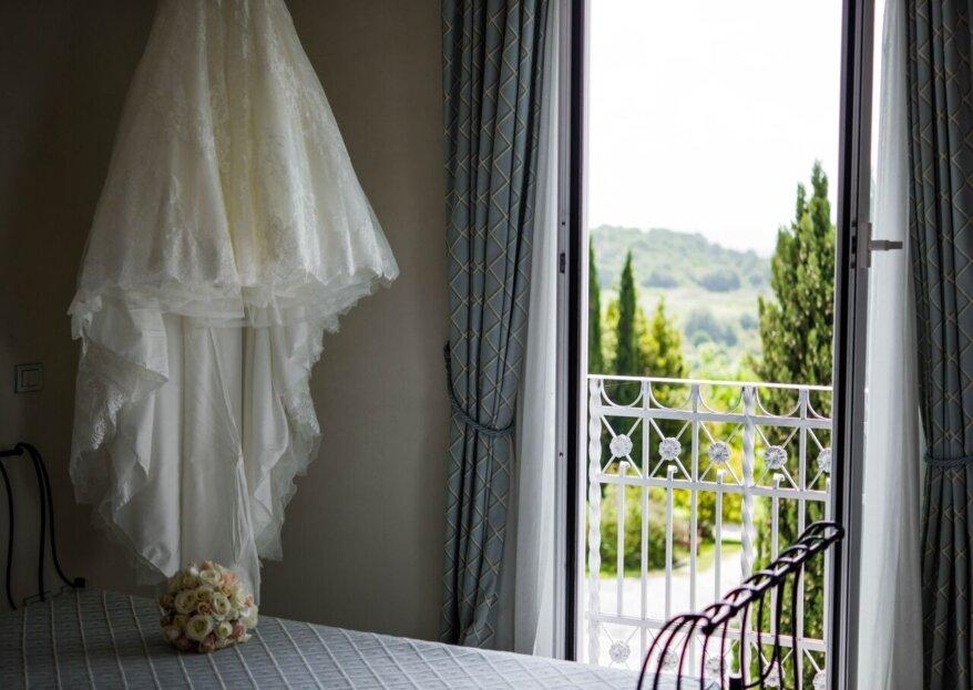 L'importanza della preparazione della sposa a Casina di Poggio della Rota