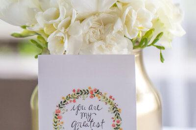 Dê largas à sua imaginação, agradeça e surpreenda os seus convidados!