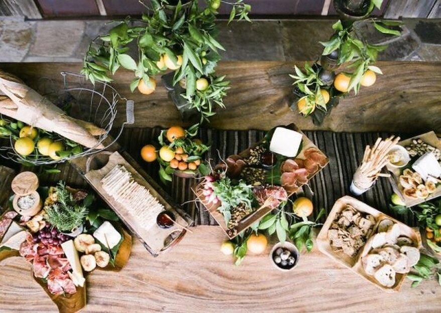 Si te casas este año, no te puedes perder estas 6 tendencias 'gastro'