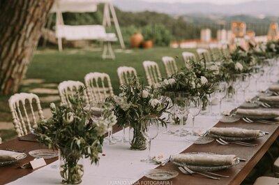 4 alternativas millenials al clásico menu de boda