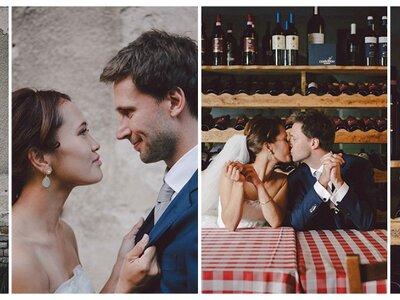 Thao & Stefan's magische Hochzeit im Potsdamer Schloss Kartzow!