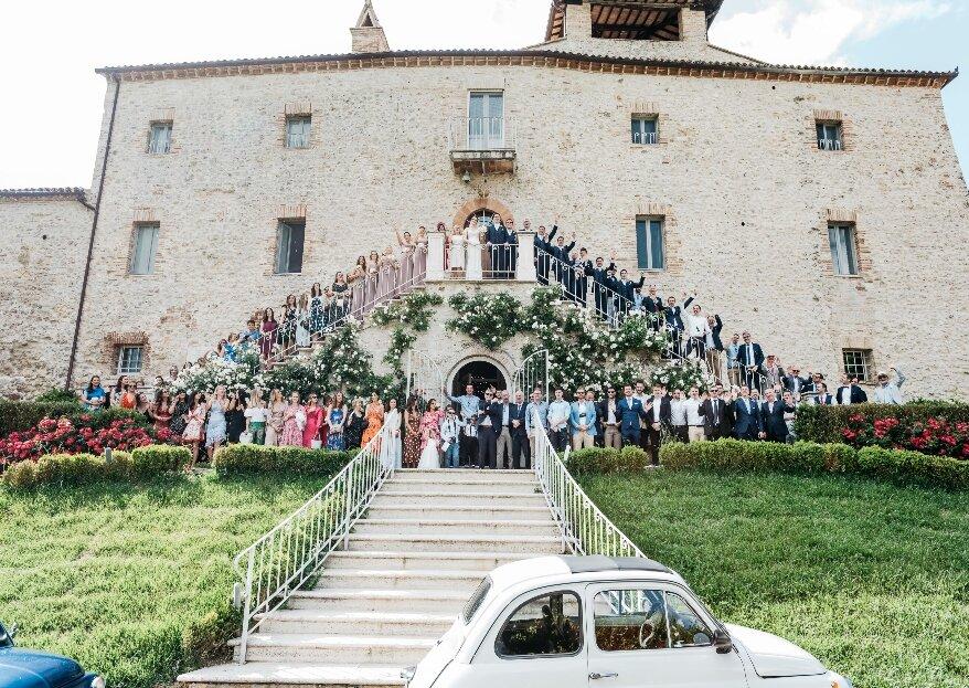 Een Italiaanse bruiloft? Yes please! Cian en Laura laten ons zien hoe het moet