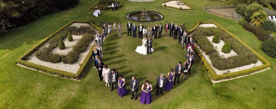 R.Drone : des photos et vidéos aériennes pour un souvenir original de votre mariage