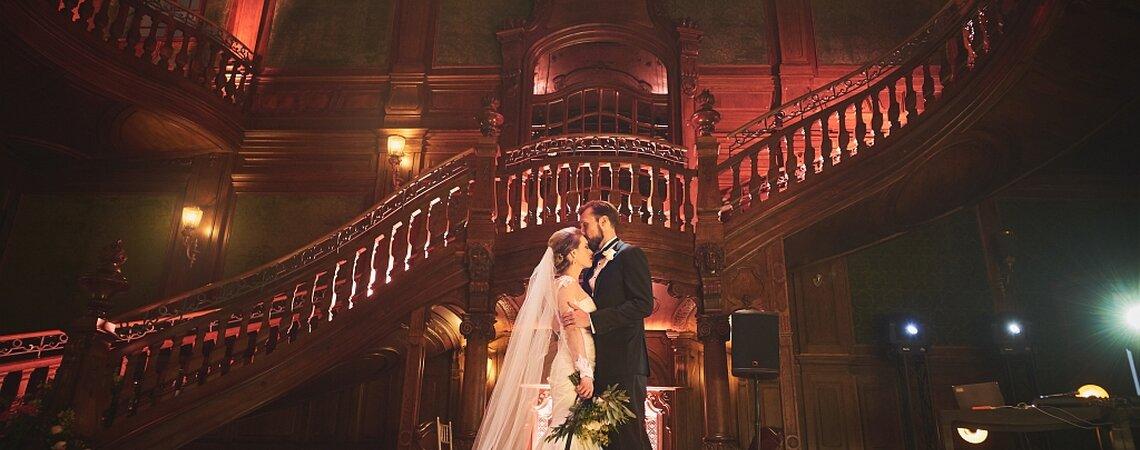 Niezwykłe przyjęcie Ashley i Roberta w polskim pałacu. Musisz to zobaczyć!