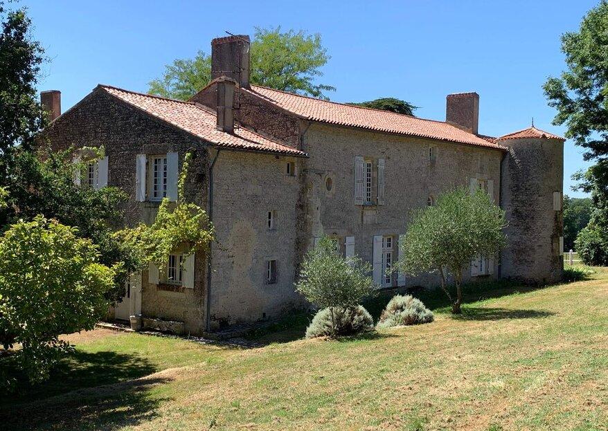 Le Logis des Arçonnières : organisez votre beau jour champêtre en Vendée !
