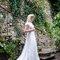 Robe de mariée romantique dentelle et soie