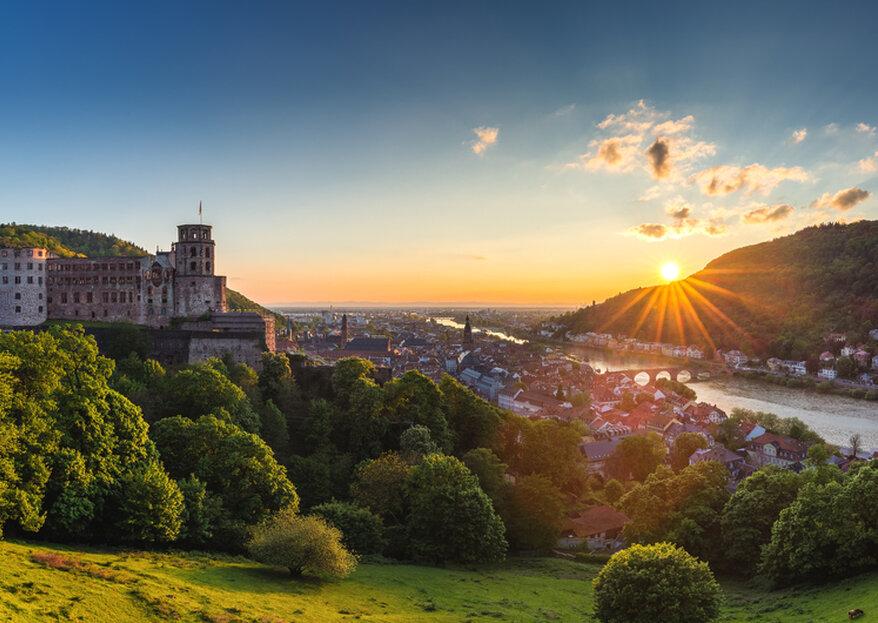Heiraten in Heidelberg - Unser Wegweiser für die Traumhochzeit in der Stadt am Neckar