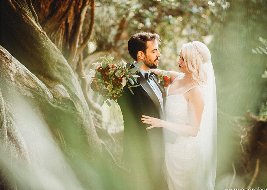 Katie & Henry: um casamento envolto em sons encantados na mágica vila de Sintra