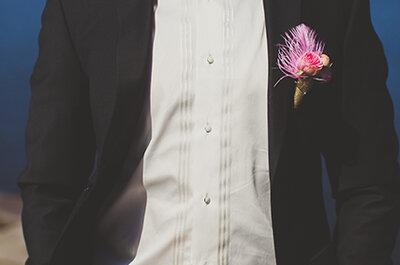 Бутоньерка для жениха – важная деталь в свадебном мужском костюме