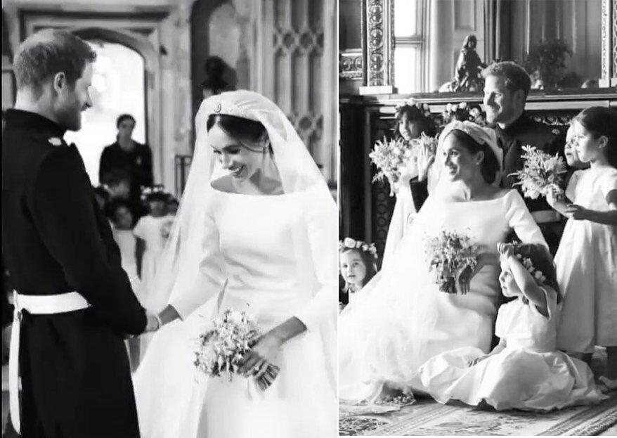 Harry & Meghan celebram um ano de casamento e divulgam imagens inéditas