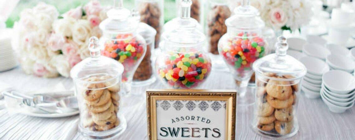 Een candybar op de bruiloft: het zoetste hoekje van jouw grote dag!