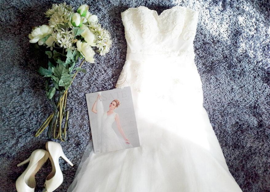 Vestidos de novia según la forma de tu cuerpo. ¡Descubre qué estilo se adapta mejor a tu figura!