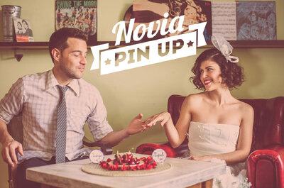 Una novia Pin Up con mucho estilo