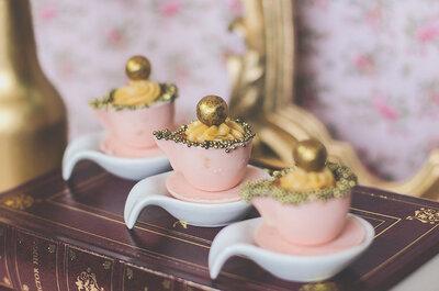 Mesa de doces diferentes e inusitados no seu casamento: surpreenda os seus convidados!