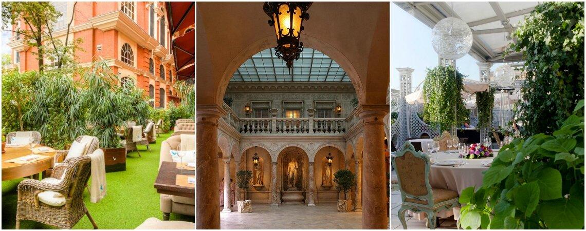 ТОП12: рестораны и банкетные залы для свадьбы в Москве