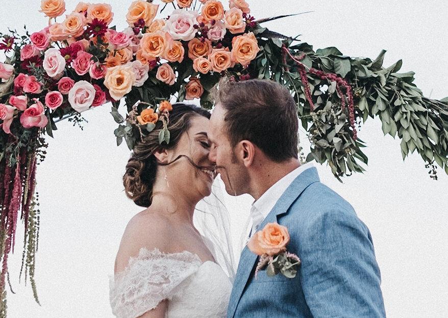 Somos el equilibrio perfecto: la boda de Tamara y Marco