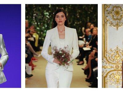 Brautmode-Trends 2016 – Hosenanzug statt Brautkleid für die stilsichere, moderne Frau!