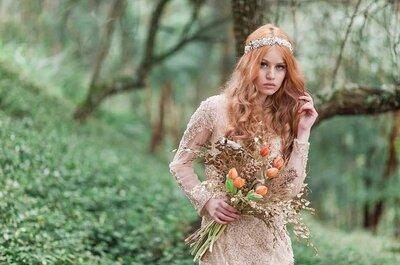 Look da semana: noiva em estilo boho!