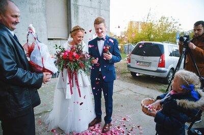 Przeładowany emocjonalnie ślub Pauliny i Rafała. Oni zakochani w sobie, a fotograf zapatrzony w wielką miłość!