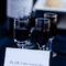 Presentación de las bebidas de boda