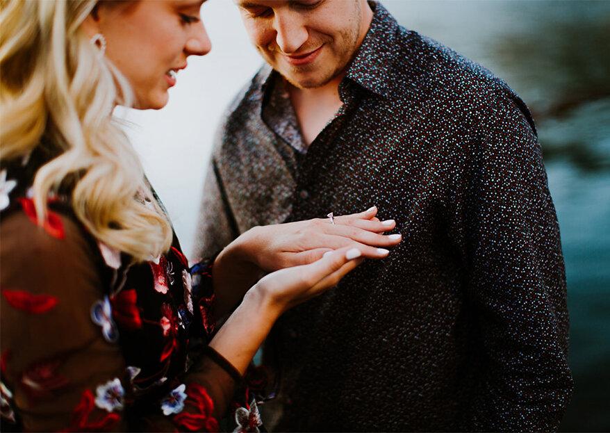 Não gosto do meu anel de noivado. E agora?