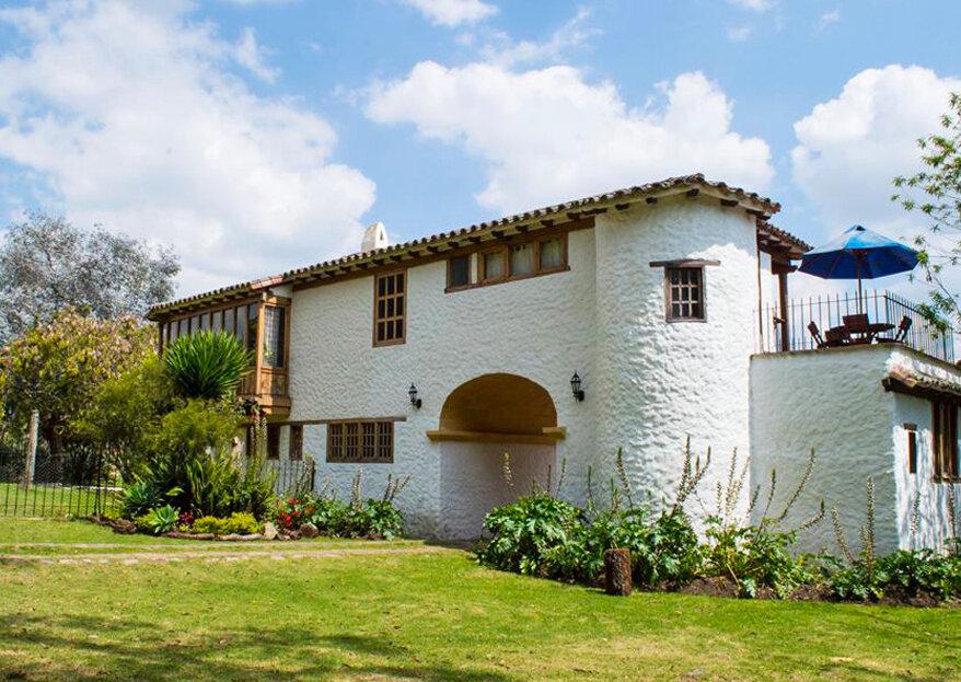 Encantadora Hacienda El Rincón de la Montaña: una boda campestre, romántica y natural