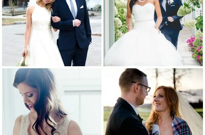Find Your Wedding White: the perfect shade of white for your coloring!