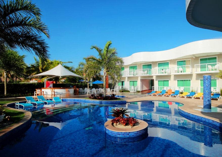 Hotel Paradiso Del Sol: a estrutura perfeita para a sua lua de mel; seu paraíso particular!