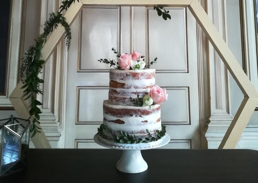 Baronesa às Claras: a doçura de um casamento num bolo personalizado e com muito savoir faire