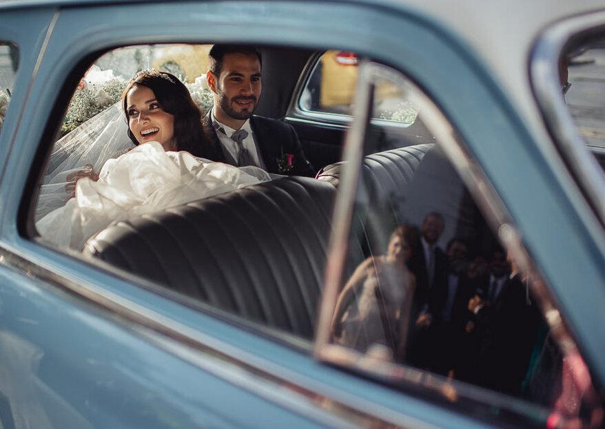 Elige el auto de tu boda de acuerdo con tu personalidad