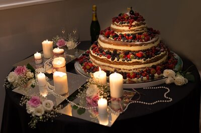 Magnolia Eventi reinventa per gli sposi la Naked Wedding Cake