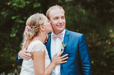 Johanna et Thibault : un mariage chic et champêtre dans le Gard