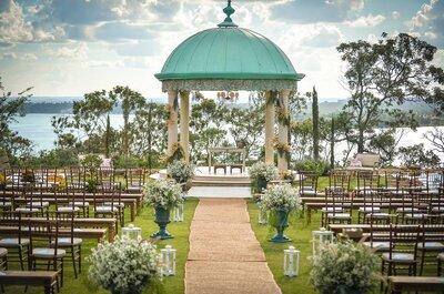 Os 7 melhores locais para se casar ao ar livre em Brasília