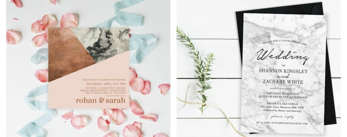 Sophisticated and Affordable Wedding Invitations: the stunning collection by Paper Divas!