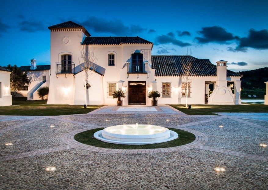 Las 10 mejores haciendas y cortijos para bodas de Málaga