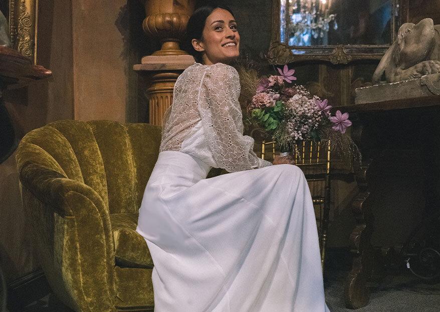 Blanche x Printemps Mariage : des robes minimalistes pour futures mariées en quête d'élégance