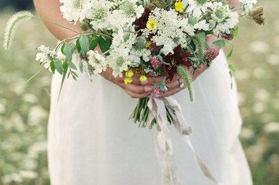 Die schönsten Brautsträusse mit weissen Blumen – Ein elegantes Accessoire für die Hochzeit