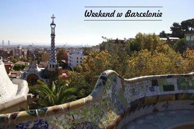 Podróż poślubna w weekend: magiczna Barcelona